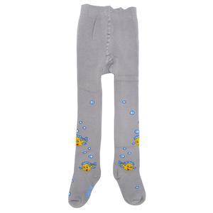 جوراب شلواری نوزادی دخترانه کنته کیدز طرح ماهی کد G_7C-38-236