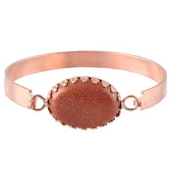 دستبند مسی گالری مثالین کد 149181 سایز M