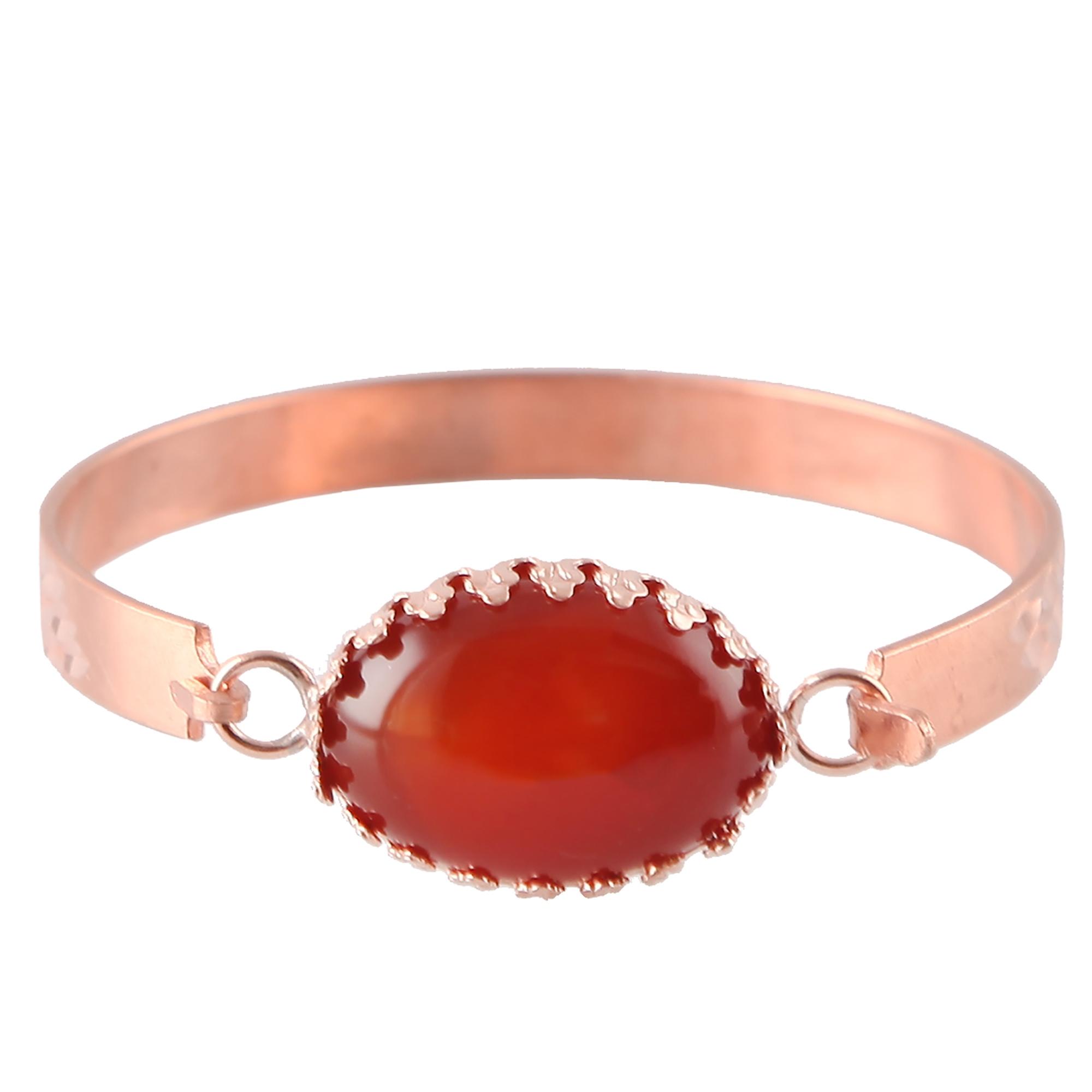 دستبند مسی گالری مثالین کد 149202 سایز M thumb