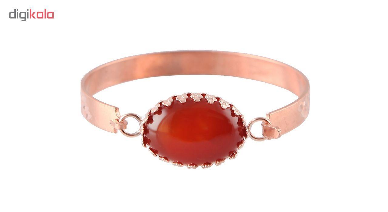 دستبند مسی گالری مثالین کد 149202 سایز M main 1 1