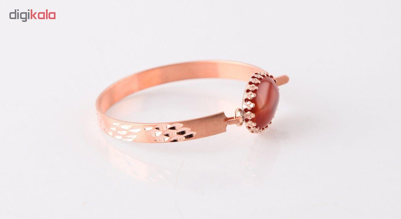 دستبند مسی گالری مثالین کد 149202 سایز M main 1 2