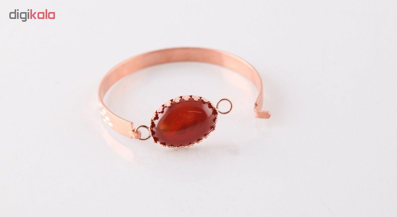 دستبند مسی گالری مثالین کد 149202 سایز M main 1 3