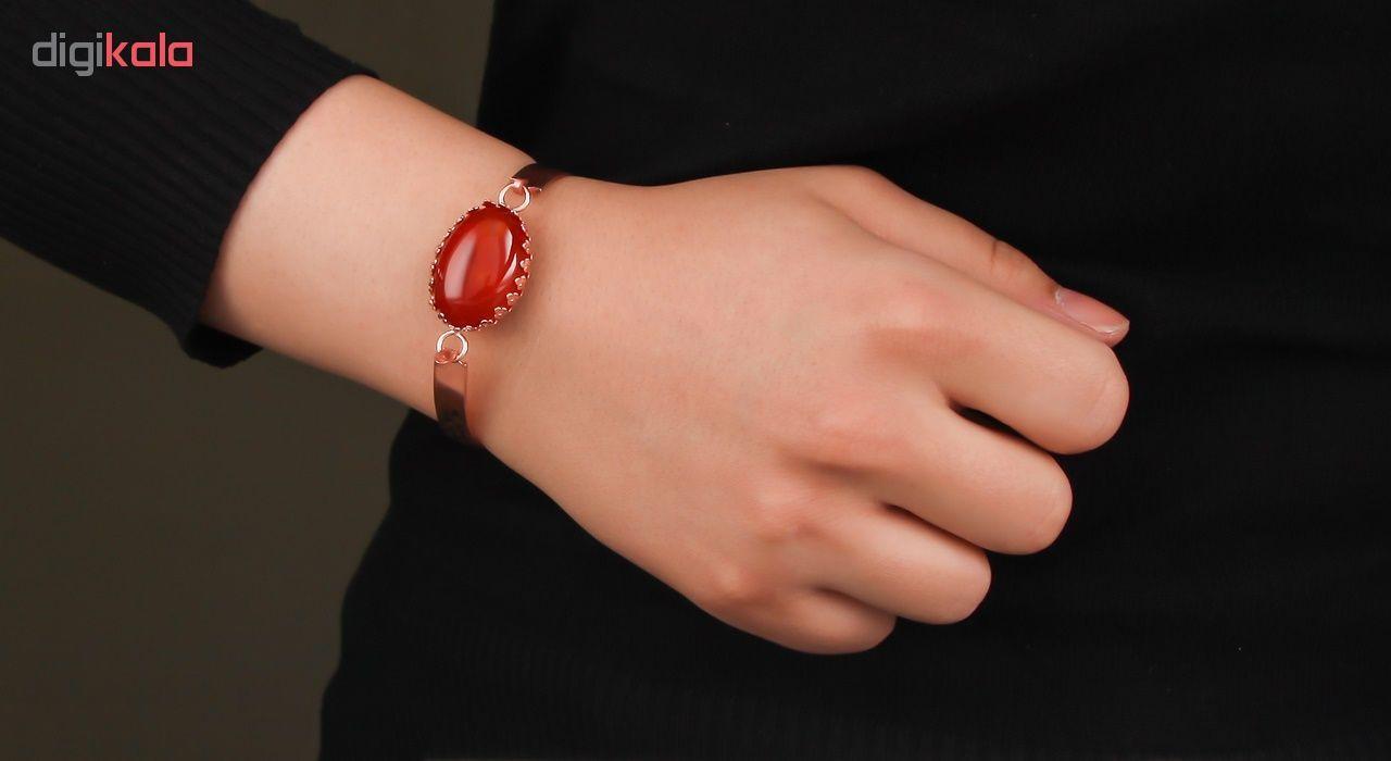 دستبند مسی گالری مثالین کد 149202 سایز M main 1 4