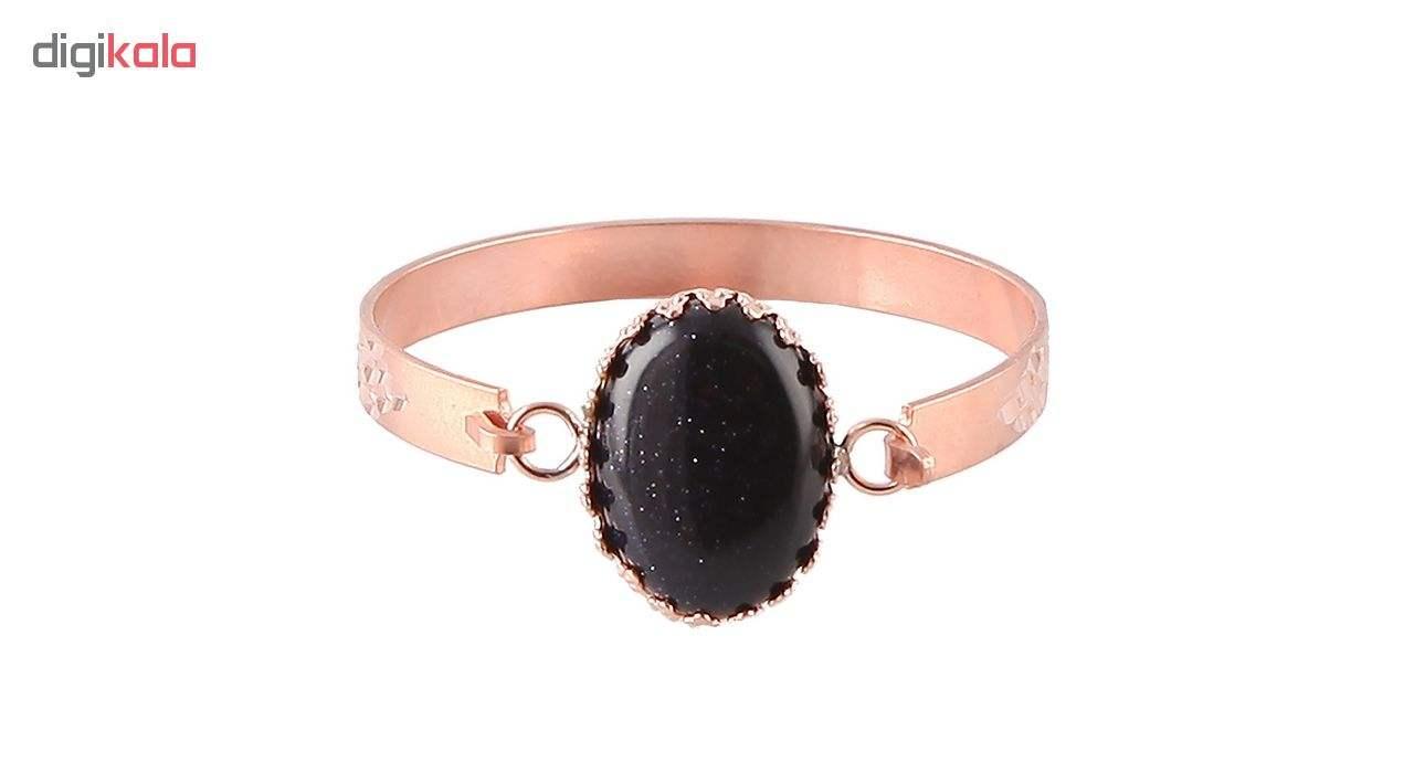دستبند مسی گالری مثالین کد 149204 سایز M main 1 1