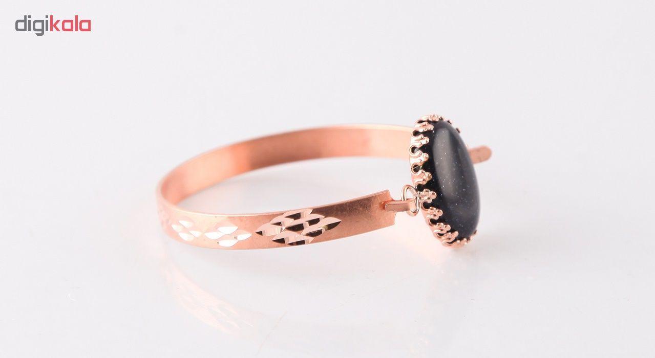 دستبند مسی گالری مثالین کد 149204 سایز M main 1 2
