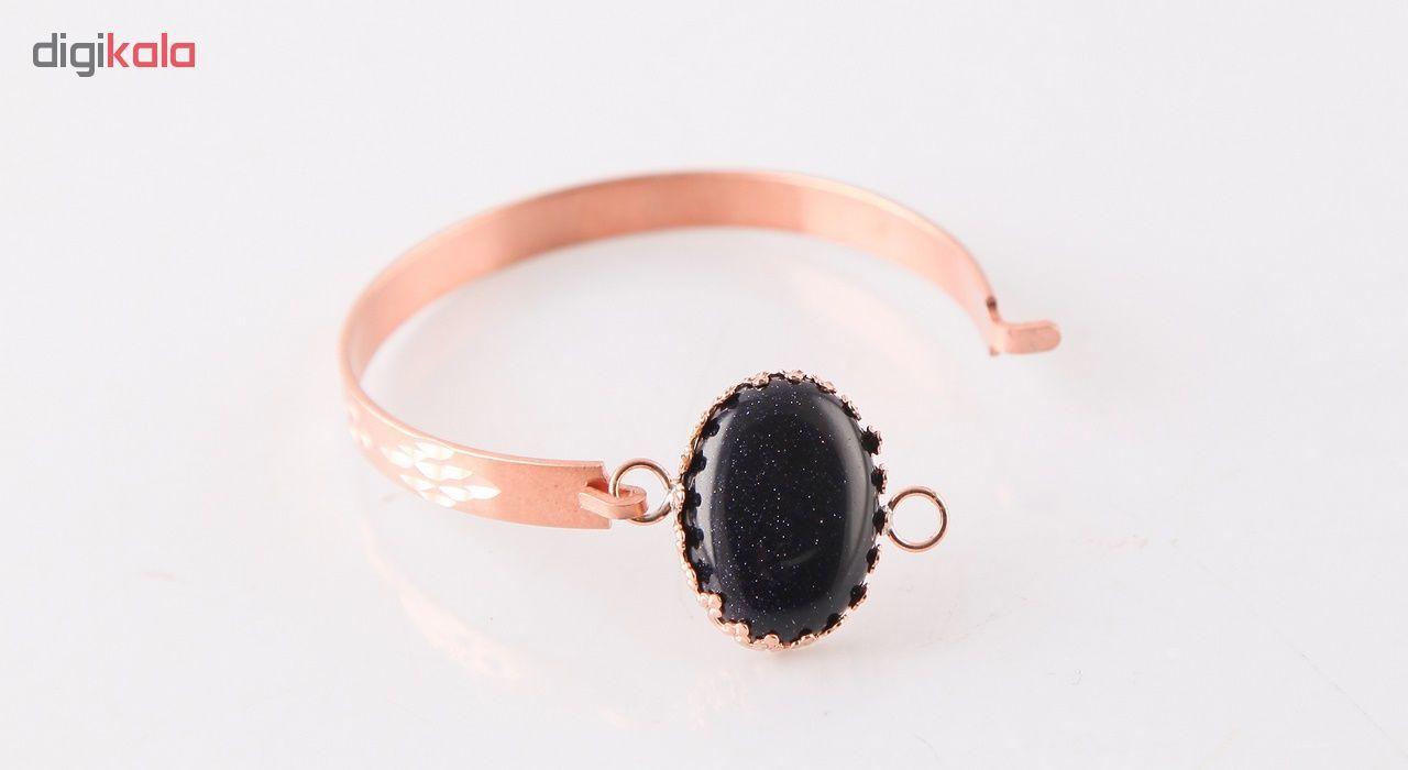دستبند مسی گالری مثالین کد 149204 سایز M main 1 3