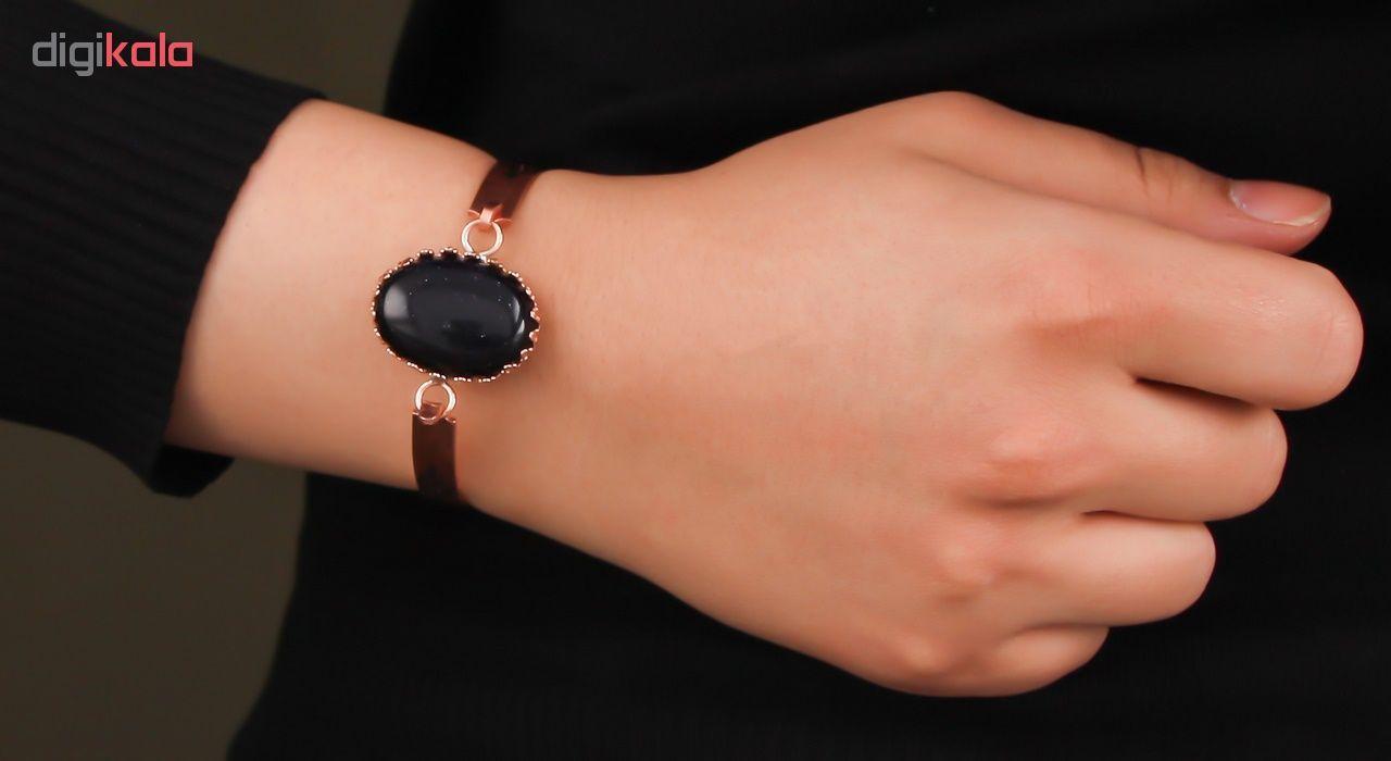 دستبند مسی گالری مثالین کد 149204 سایز M main 1 5