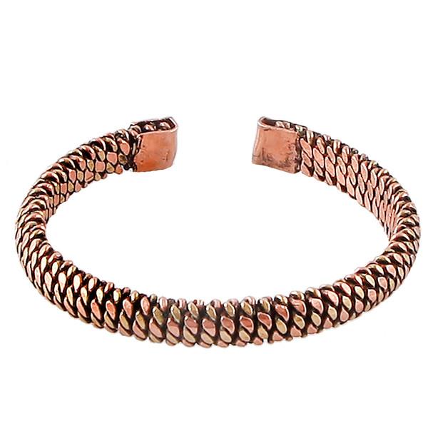 دستبند مسی گالری مثالین کد 149221 سایز L