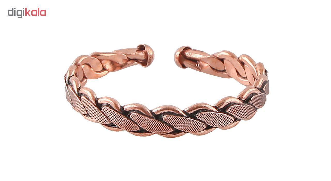 دستبند مسی گالری مثالین کد 149222 سایز Free Size main 1 1