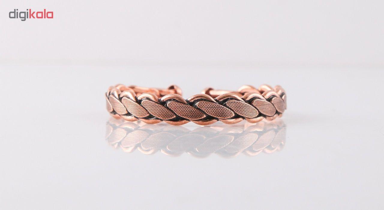 دستبند مسی گالری مثالین کد 149222 سایز Free Size main 1 2