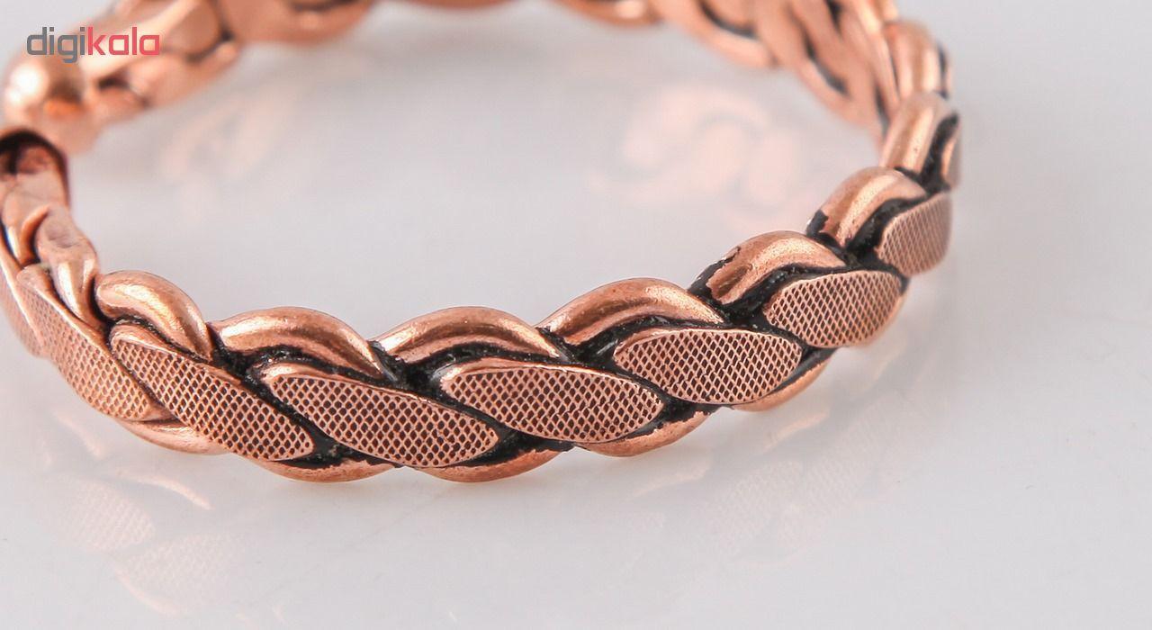 دستبند مسی گالری مثالین کد 149222 سایز Free Size main 1 3