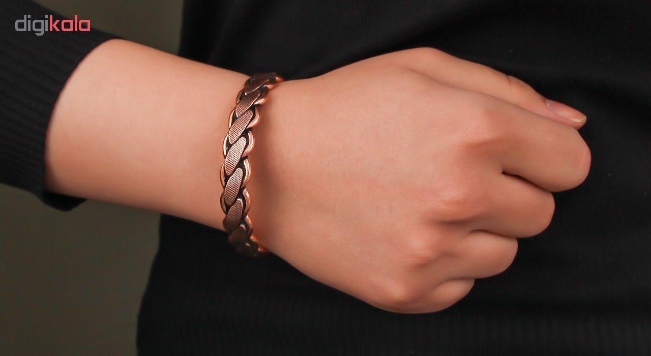 دستبند مسی گالری مثالین کد 149222 سایز Free Size main 1 4