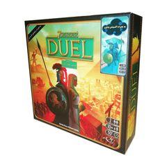 بازی فکری مدل 7Wonders Duel with Pantheon expansion