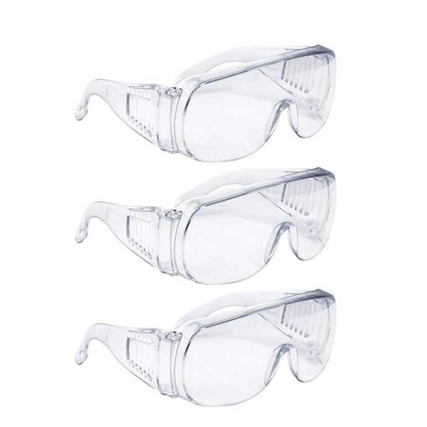 عینک ایمنی مدل ET108 بسته 3 عددی