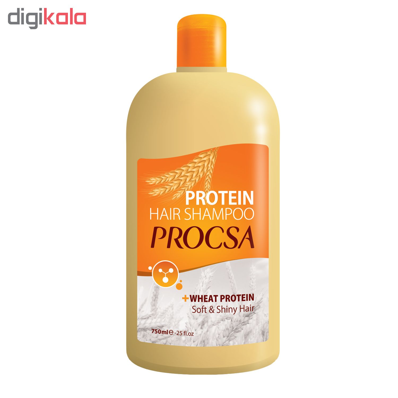 شامپو مو پروکسا مدل Wheat Protein حجم ۷۵۰ میلی لیتر