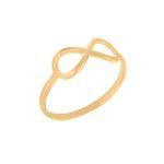 انگشتر طلا 18 عیار زنانه گالری مرجان کد 0917