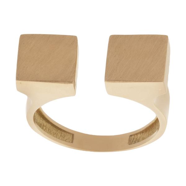 انگشتر طلا 18 عیار زنانه آلند کد R10