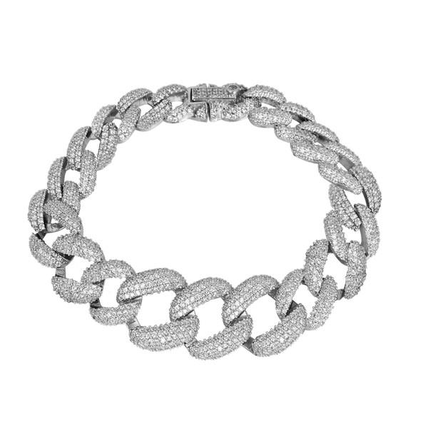 دستبند نقره زنانه مد و کلاس کد 1000519
