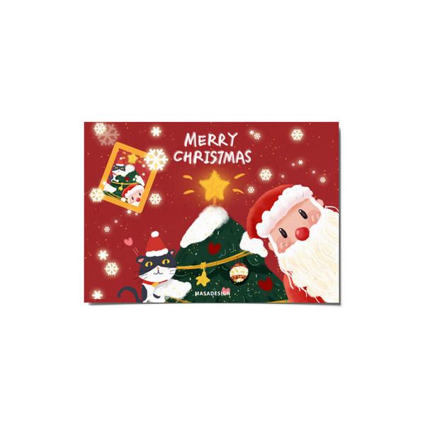 کارت پستال ماسا دیزاین طرح کریسمس کد postv166