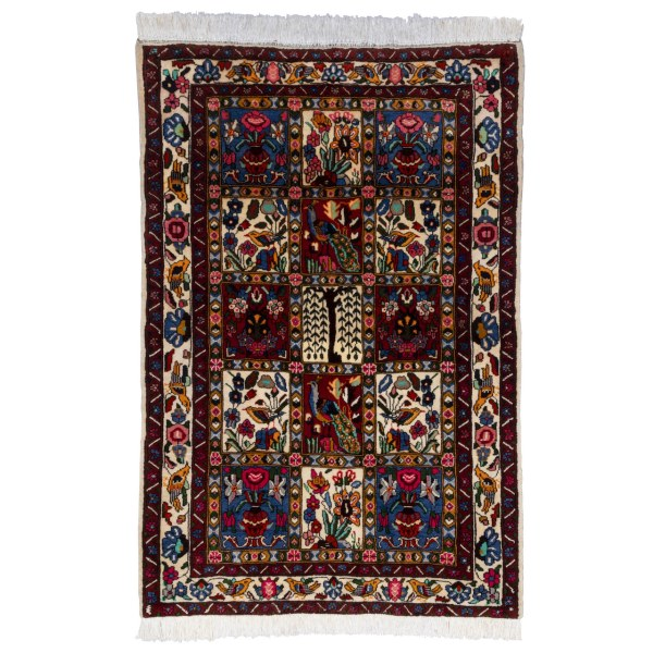 فرش دستباف ذرع و نیم سی پرشیا کد 178006