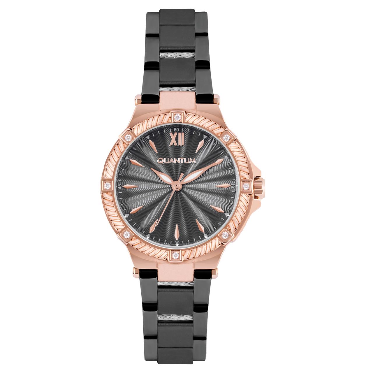 ساعت مچی عقربه ای زنانه  کوانتوم کد IML804.450