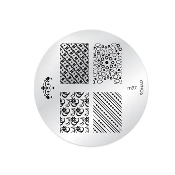 شابلون طراحی ناخن کناد کد m97
