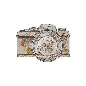 استیکر لپ تاپ طرح دوربین ماجراجویی کد 73