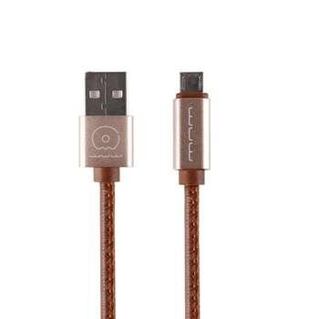 کابل تبدیل USB به microUSB دبلیو یو دبلیو مدل x01 طول 1 متر