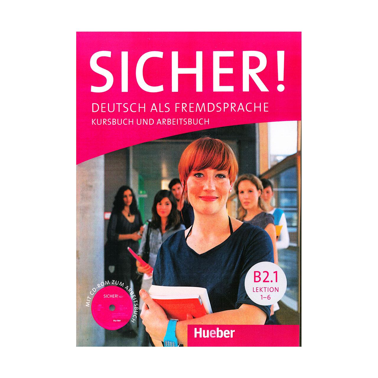 خرید                      کتاب Sicher B2.1 اثر جمعی از نویسندگان انتشارات Hueber