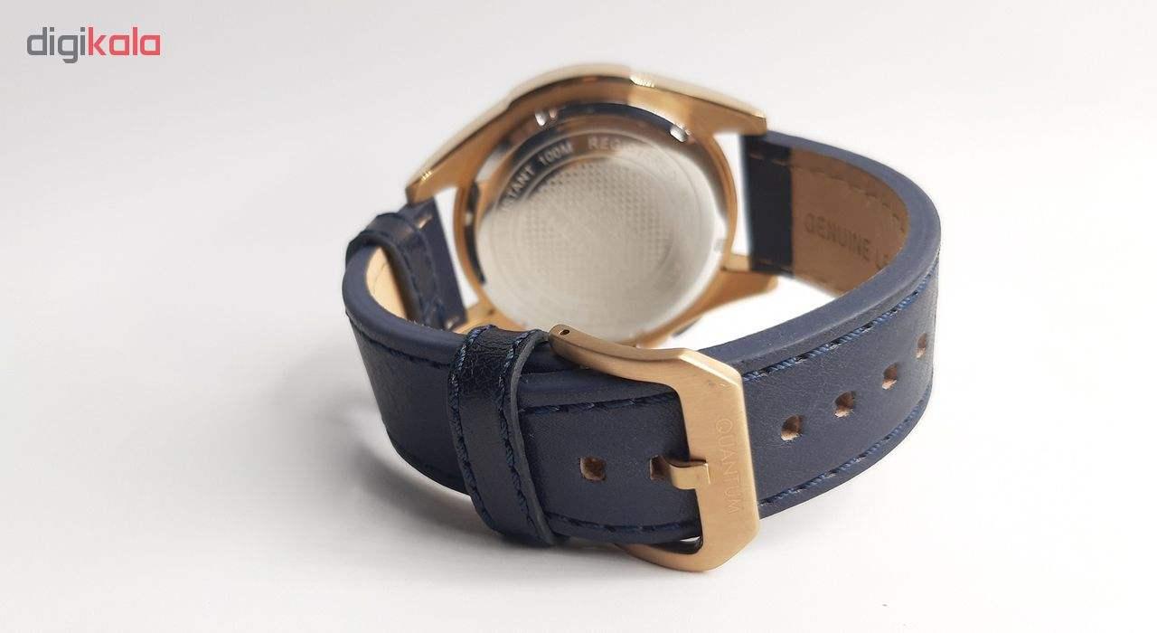 ساعت مچی عقربه ای مردانه کوانتوم مدل HNG510.999