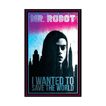 استیکر لپ تاپ طرح mr robot کد 88
