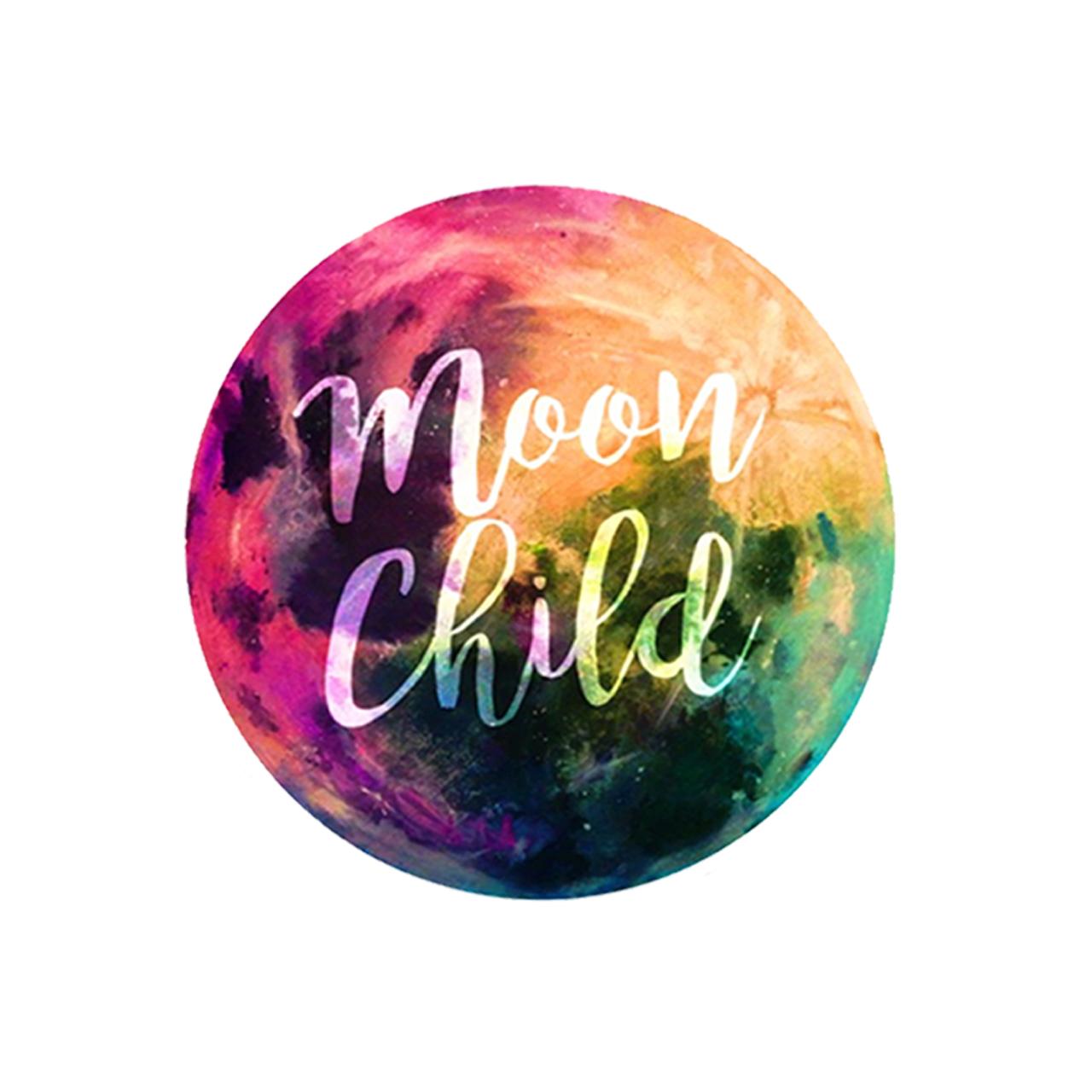 استیکر لپ تاپ طرح بچه ماه کد 94