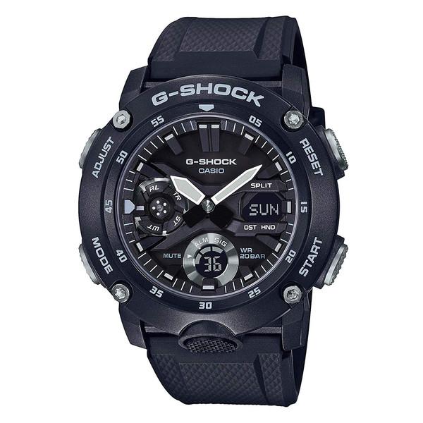 ساعت مچی عقربه ای مردانه کاسیو مدل جی شاک کد GA-2000S-1ADR