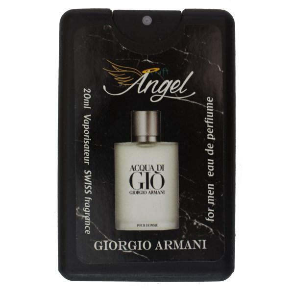 عطر جیبی مردانه انجل کرفت مدل Acqua Di Gio حجم 20 میلی لیتر