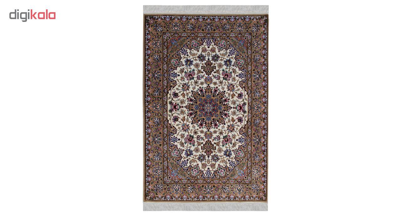 فرش دستبافت دو متری طرح اصفهان کد 1105810