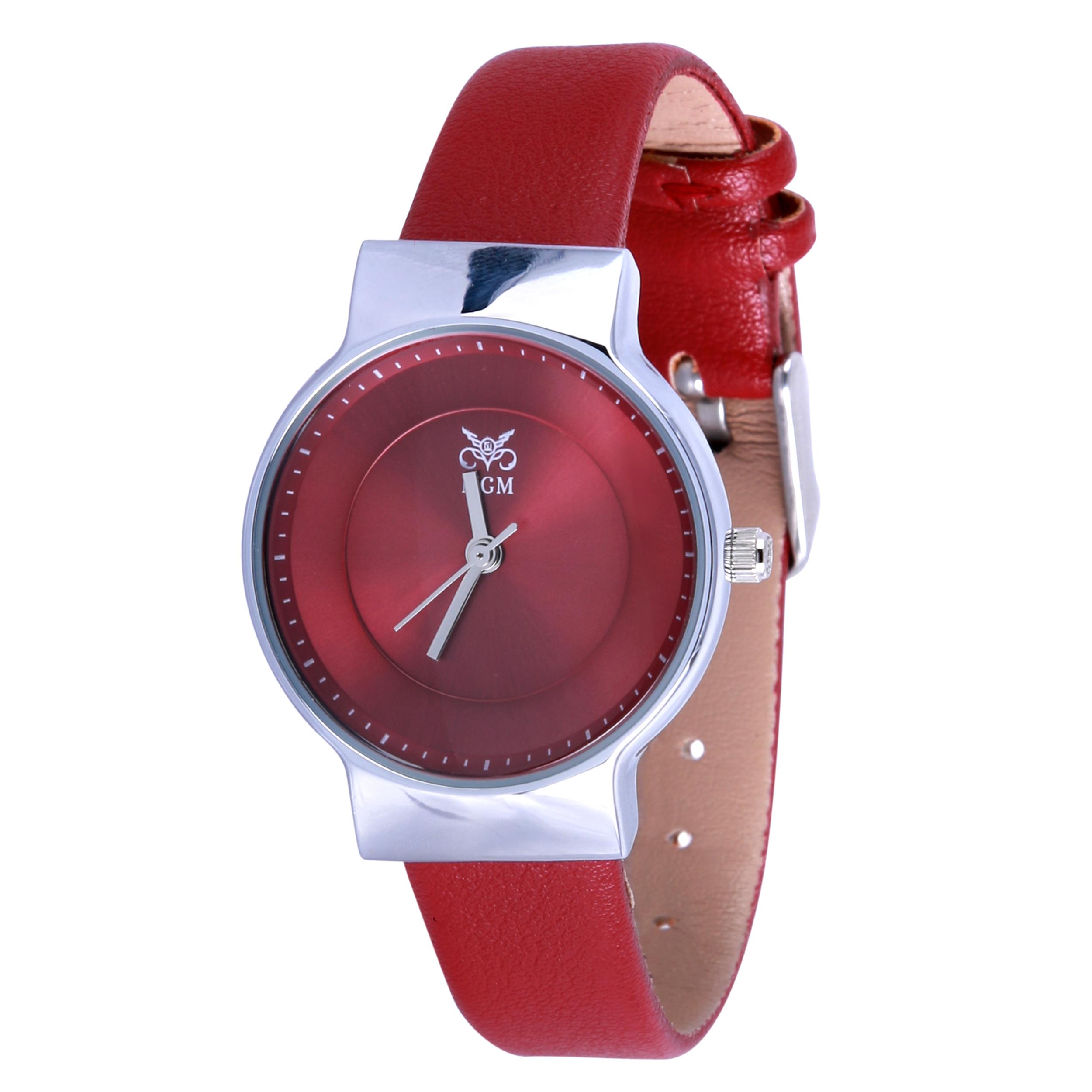 ساعت مچی عقربه ای زنانه ام جی ام مدل آرگون کد zr02