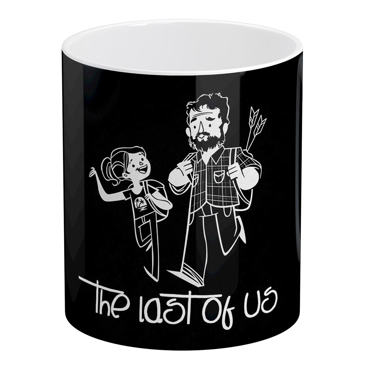 خرید ماگ آبنبات رنگی طرح The Last of Us کد AR1275