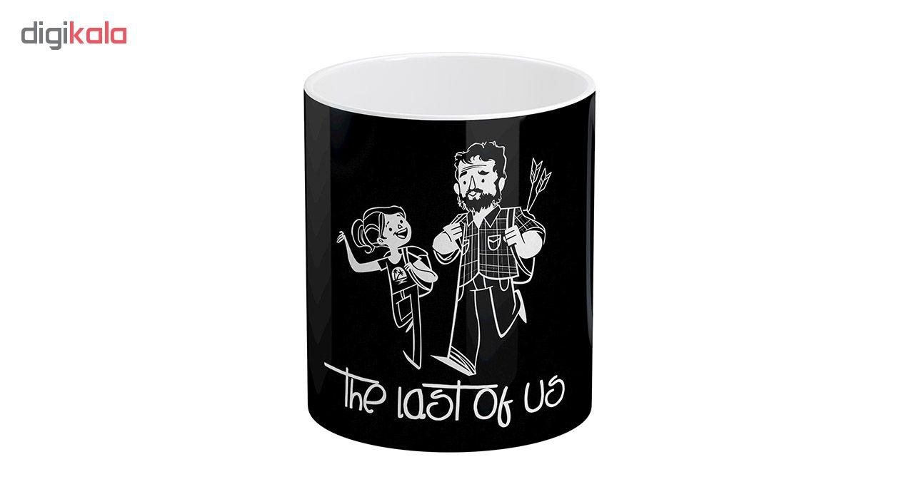 ماگ آبنبات رنگی طرح The Last of Us کد AR1275
