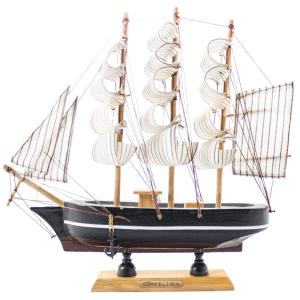 ماکت تزئینی طرح کشتی کد 09130039