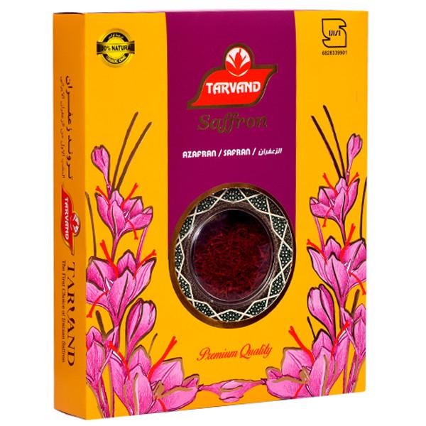 زعفران سرگل درجه یک تروند مقدار 4.6 گرم