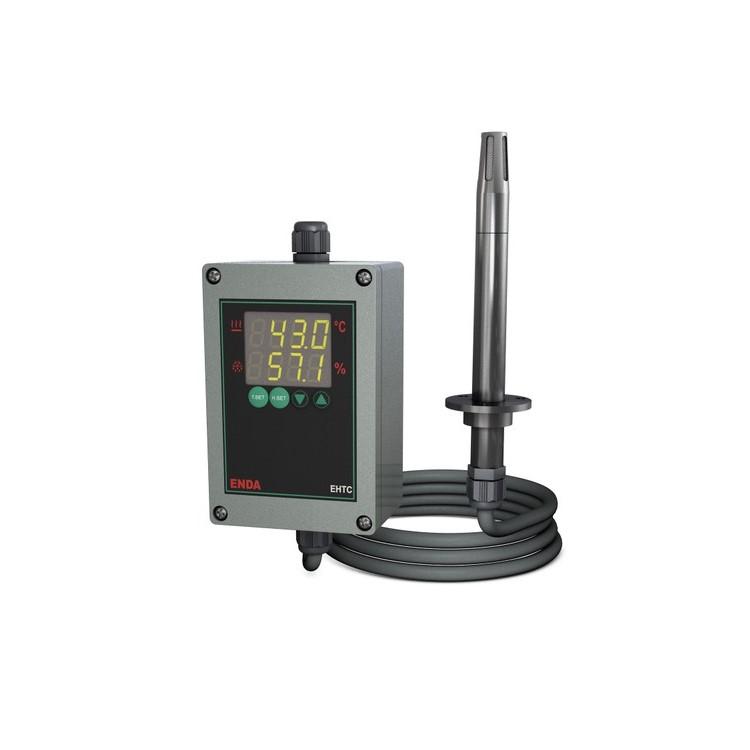 کنترلر دما و رطوبت اندا مدل EHTC-CB-LV-150-2R-RS