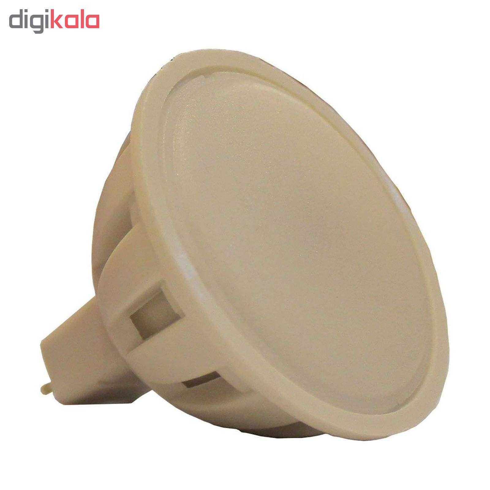 لامپ ال ای دی 5 وات مدل AB10 پایه GU5.3 بسته 10 عددی main 1 3