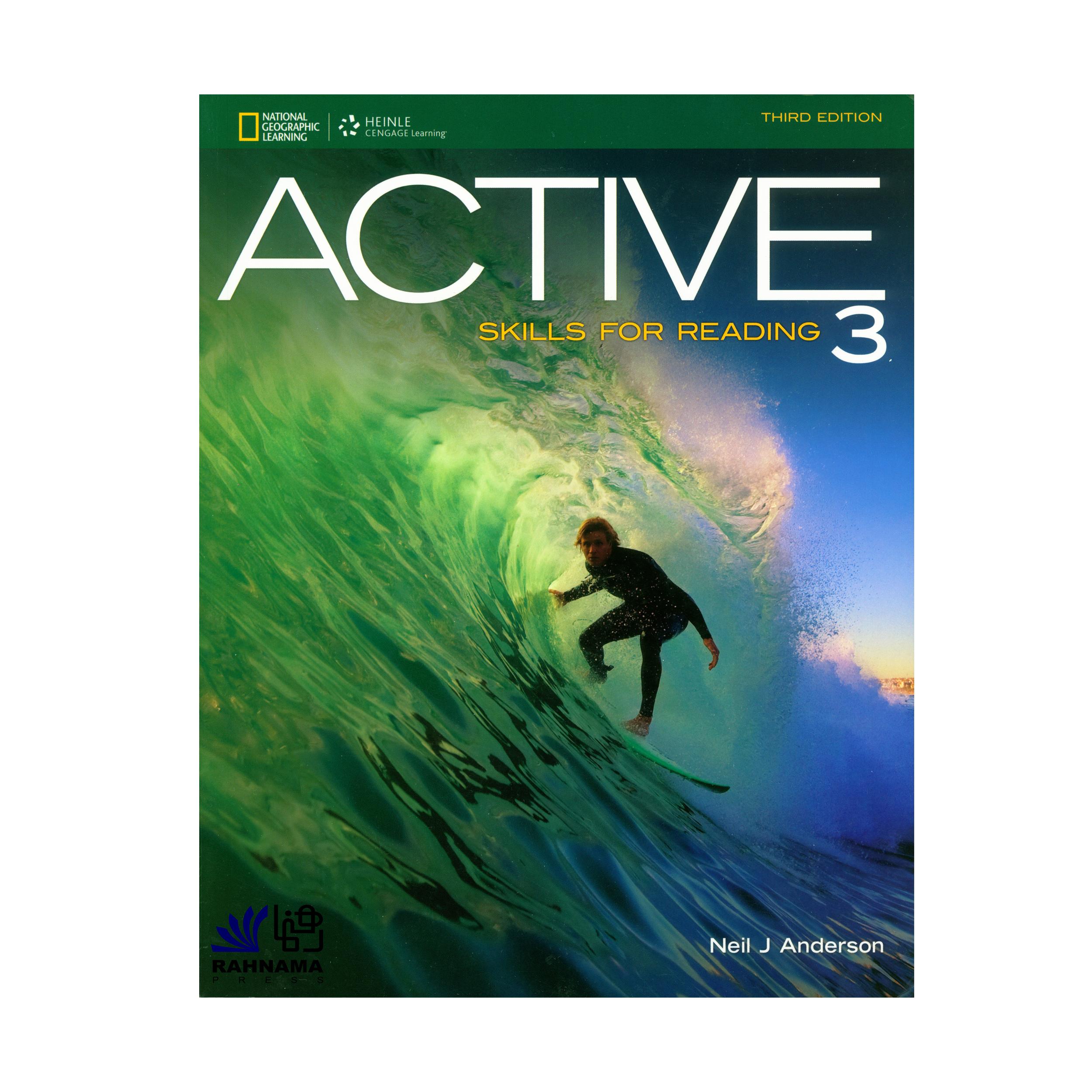 کتاب ACTIVE SKILL FOR READING 3 اثر   NEIL J ANDERSON انتشارات رهنما