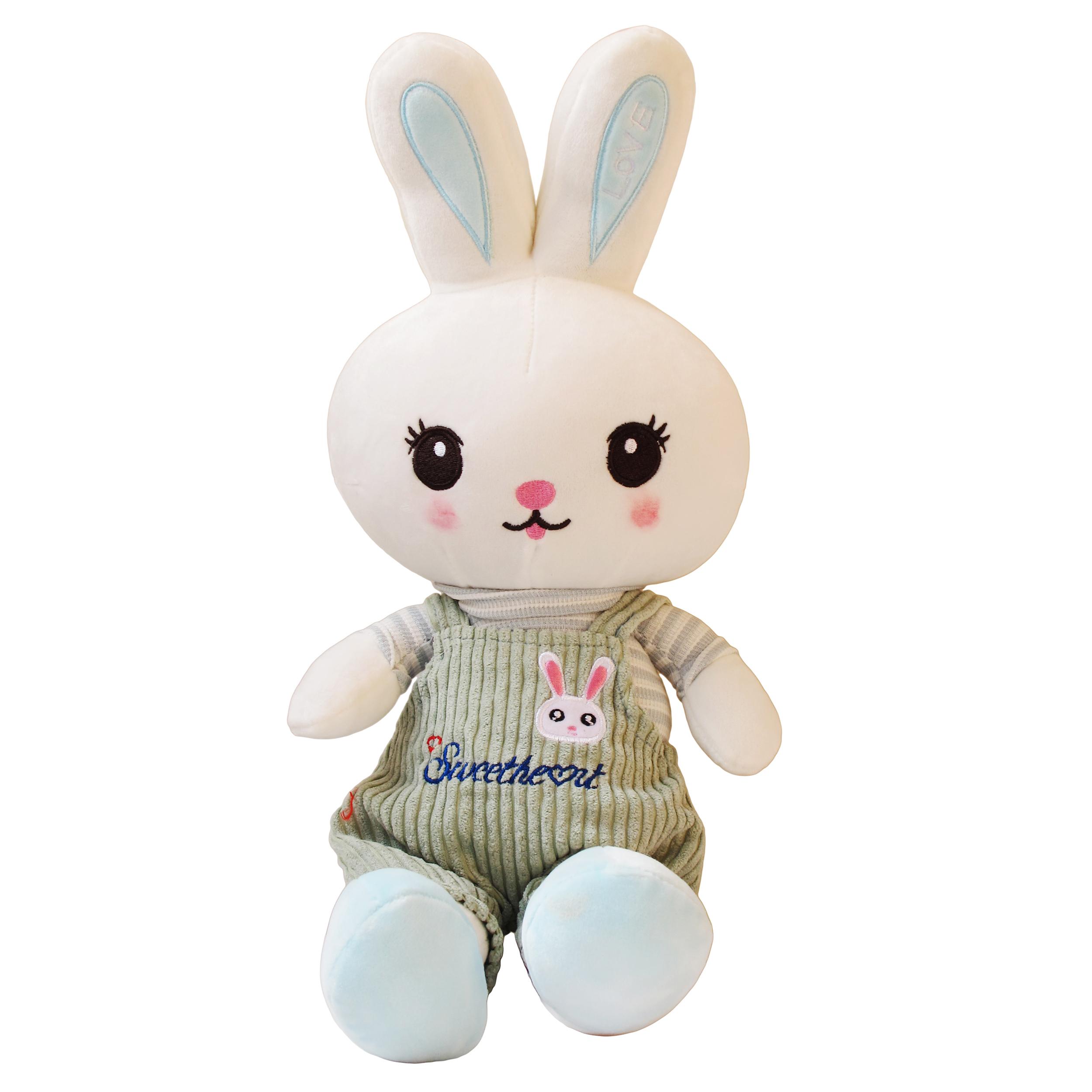 عروسک طرح خرگوش مدل گوش لاو pa009 ارتفاع 58 سانتی متر