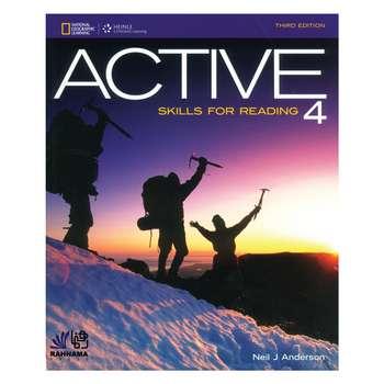 کتاب ACTIVE SKILL FOR READING 4 اثر   NEIL J ANDERSON انتشارات رهنما