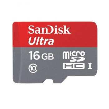 کارت حافظه microSDHC سن دیسک مدل A1 کلاس 10 استاندارد UHS-I سرعت 98MBps ظرفیت 16 گیگابایت
