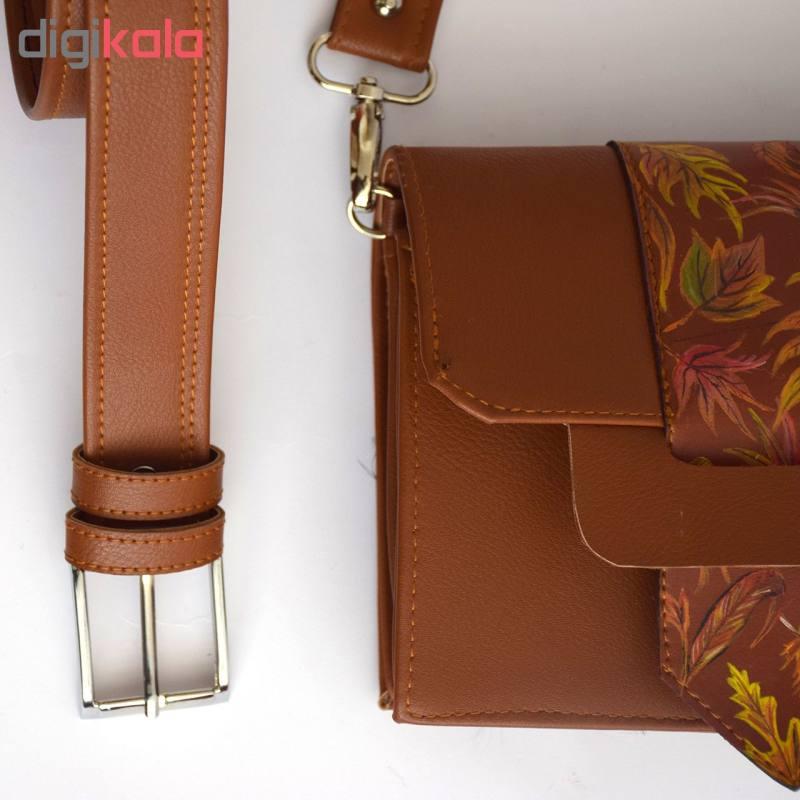 کیف دوشی زنانه دالاوین کد B-4