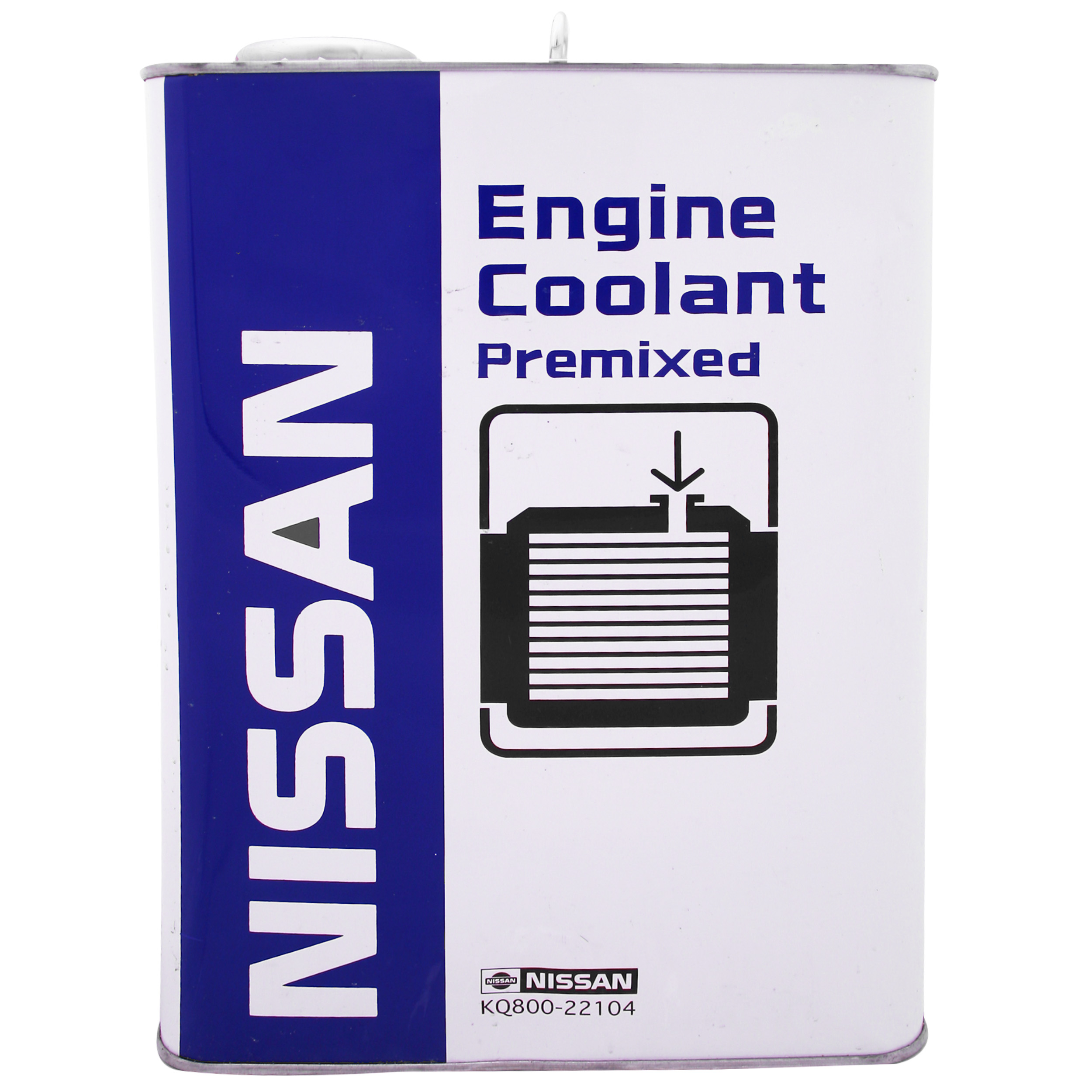 ضد یخ خودرو نیسان مدل ENGINE COOLANT PREMIXED کد 014 حجم 4000 میلی لیتر