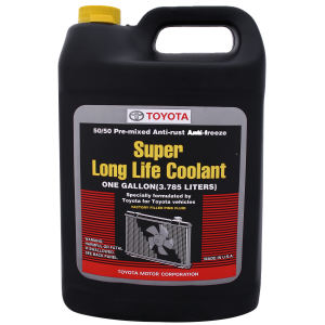 ضد یخ خودرو تویوتا مدل SUPER LONG LIFE COOLANT کد 05 حجم 4000 میلی لیتر