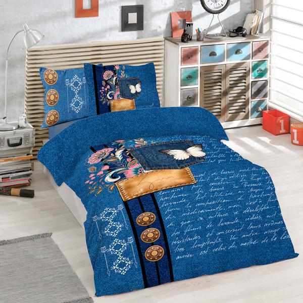 سرویس خواب زاراهوم مدل Denim یک نفره 5 تکه